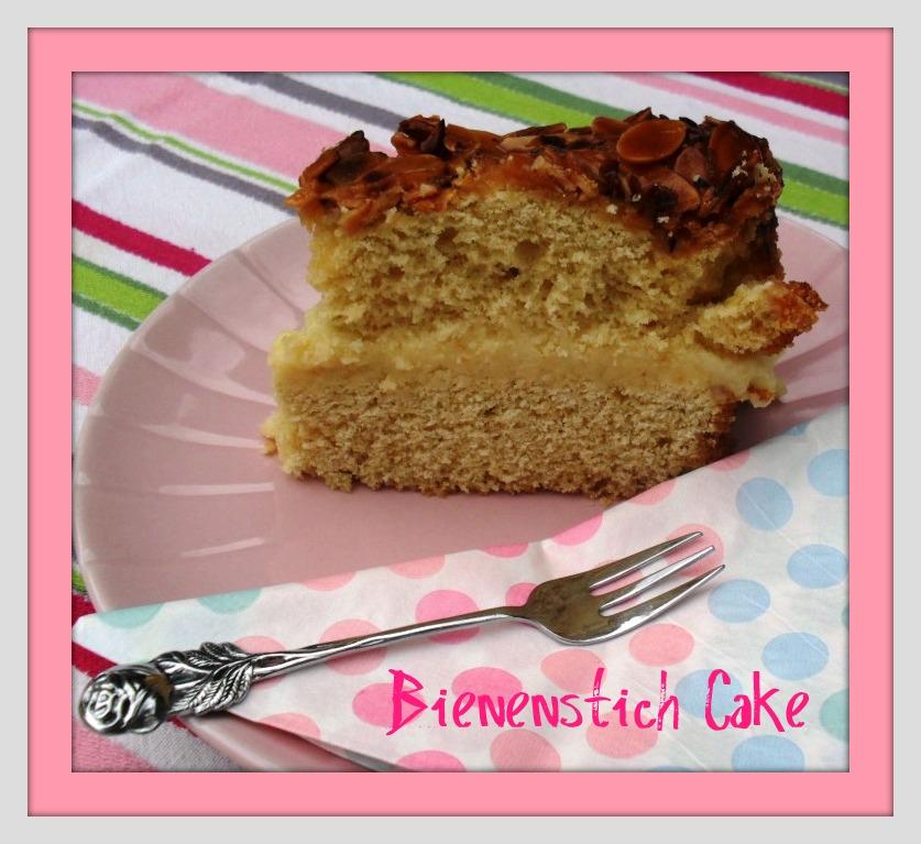 Bienenstich Cake  bienenstich a