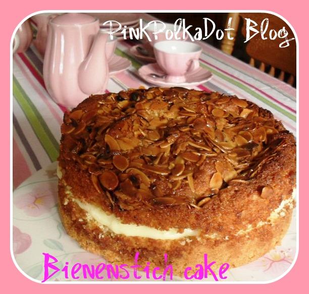 Bienenstich Cake  bienenstich b1