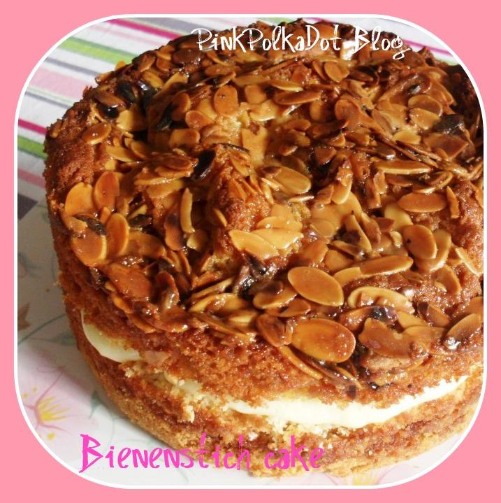 Bienenstich Cake  bienenstich c