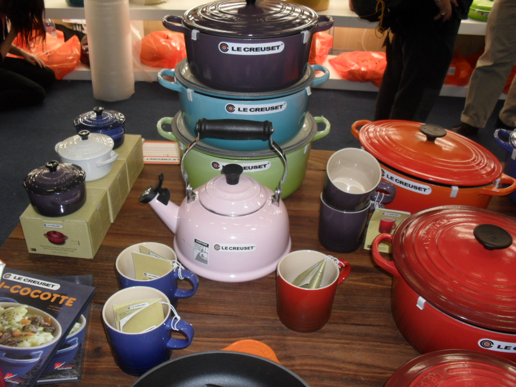 Cookery evening with Le Creuset and Silwood kitchen sam 7131