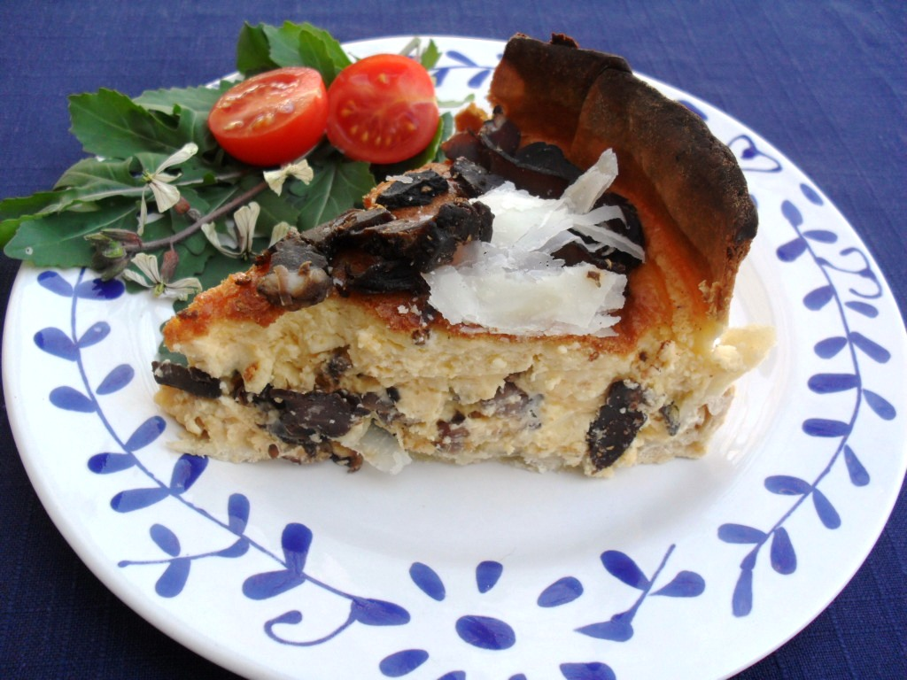 Rustic biltong and three cheeses Cheesecake biltong 2