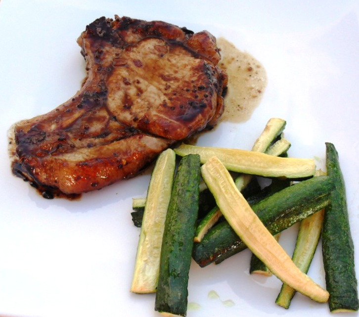 MIM 14: Honey and mustard Pork chops…. what is not to like? honey and mustard pork chops 3