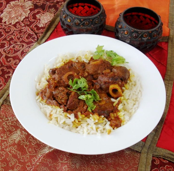 Lamb knuckle curry recipe