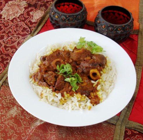 Lamb knuckle curry recipe