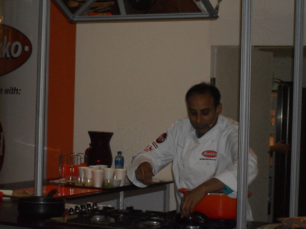 Reza Mahammad at The Cape Town Good Food and Wine Show