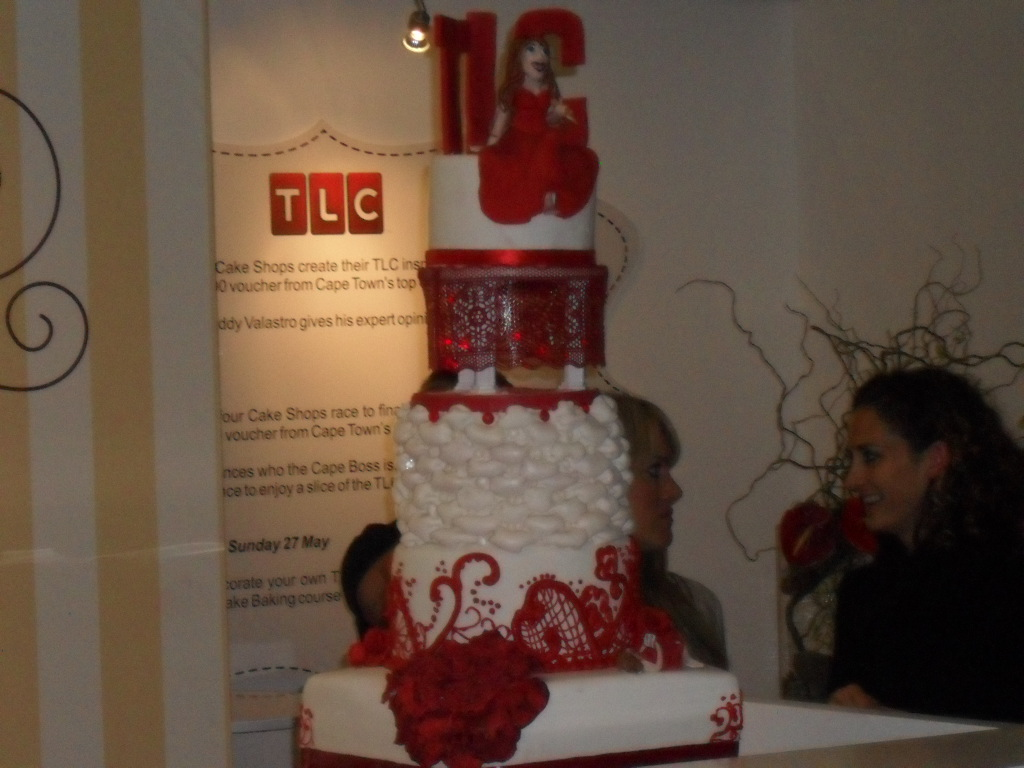 TLC cake comptetion at Good Food and wine show