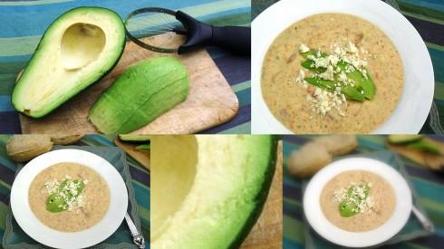 How to make bacon, avocado and feta soup