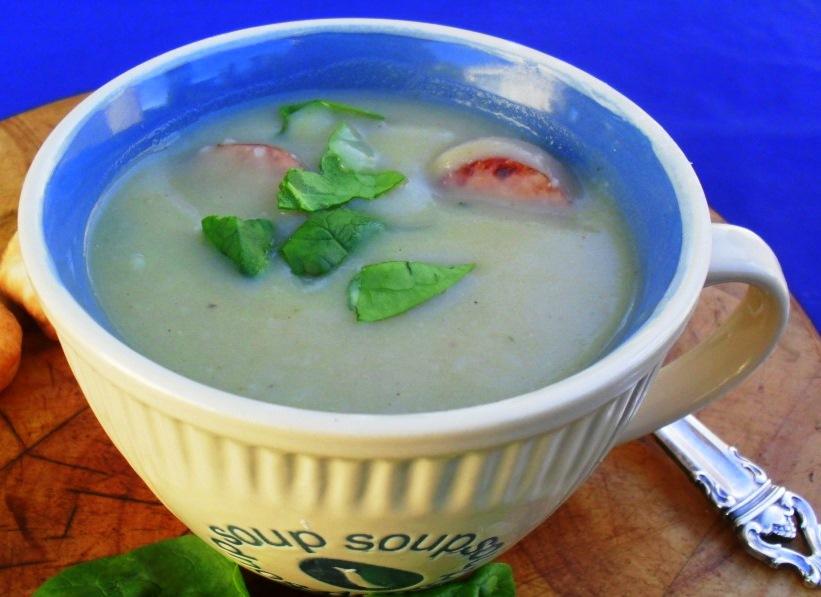 sweet potato and chorizo soup