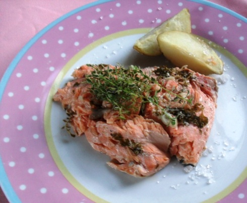 Norwegian salmon recipe